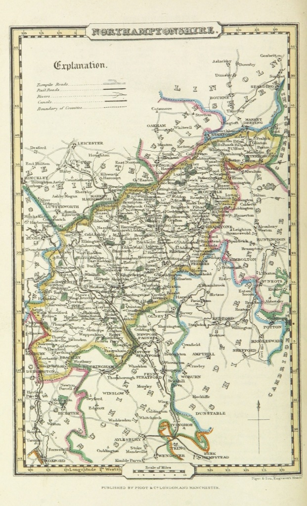 Pigot_and_Co_(2)_p2.280_-_Map_of_Northamptonshire