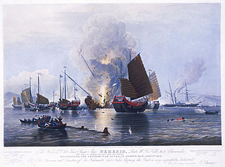 Royal Navy in the First Opium War