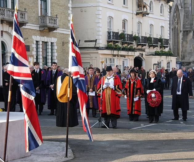 Remebrance Day in Huntingdon - hunts post