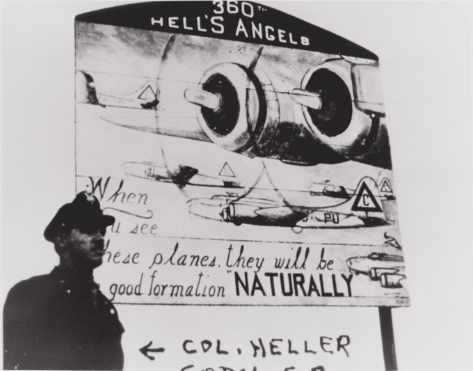Hell's Angels Board with Colonel